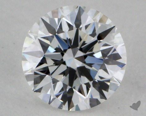 0.52 Carat D-VVS2 Very Good Cut Round Diamond
