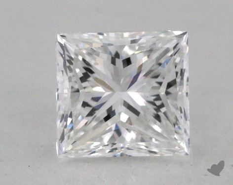 1.01 Carat E-VS2 Good Cut Princess Diamond