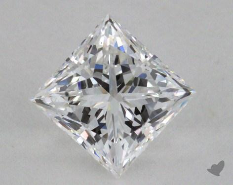 2.01 Carat D-VS2 Ideal Cut Princess Diamond