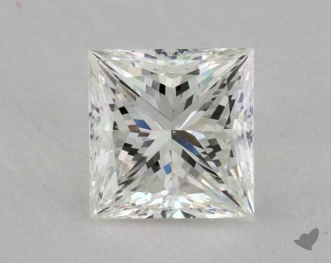 3.14 Carat I-VS1 Ideal Cut Princess Diamond