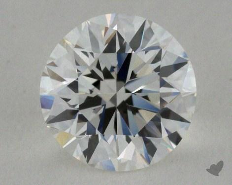 1.01 Carat F-IF Very Good Cut Round Diamond
