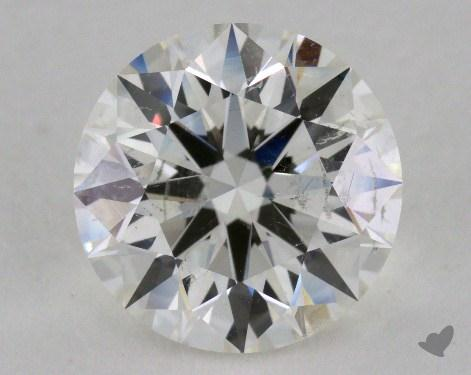 2.54 Carat I-SI2 Excellent Cut Round Diamond