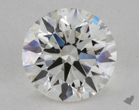 2.07 Carat I-SI2 Excellent Cut Round Diamond