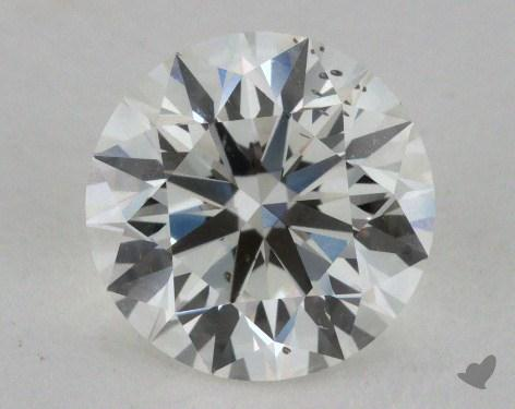 2.01 Carat H-SI1 Excellent Cut Round Diamond