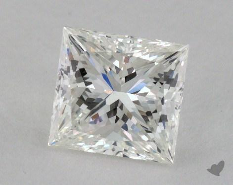 3.12 Carat H-VS1 Ideal Cut Princess Diamond
