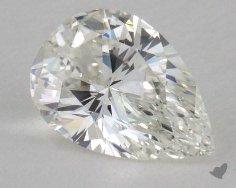 0.75 Carat H-VVS1 Pear Shaped  Diamond