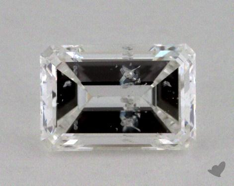 0.70 Carat F-I1 Emerald Cut Diamond