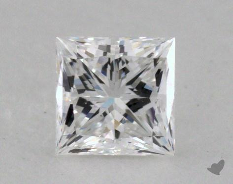 0.52 Carat D-VVS1 Ideal Cut Princess Diamond