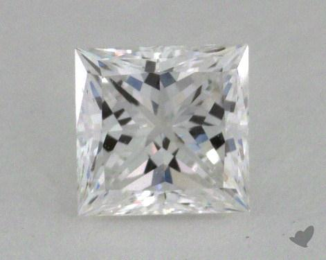 0.56 Carat D-VS1 Ideal Cut Princess Diamond