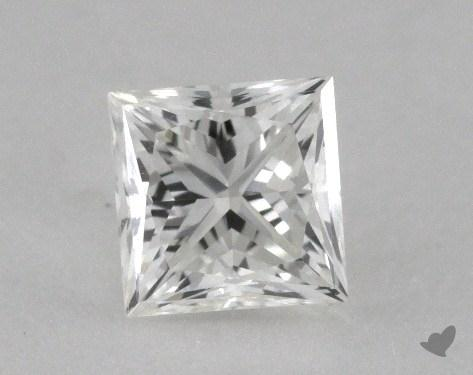 0.45 Carat H-VVS2 Ideal Cut Princess Diamond