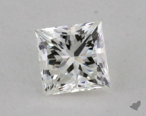 0.53 Carat H-VVS2 Ideal Cut Princess Diamond