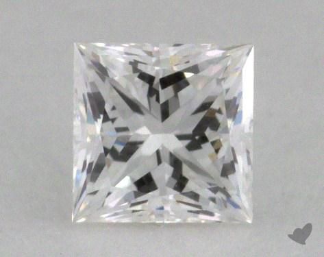 0.50 Carat F-VVS1 Ideal Cut Princess Diamond