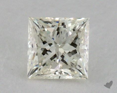 0.51 Carat K-VVS1 Ideal Cut Princess Diamond