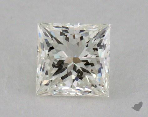0.52 Carat K-VVS1 Princess Cut Diamond