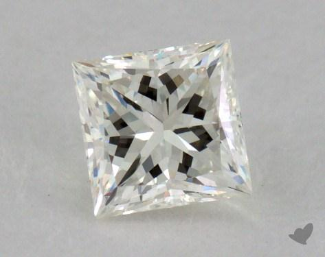0.50 Carat K-VVS2 Ideal Cut Princess Diamond
