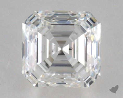 1.50 Carat F-SI1 Asscher Cut  Diamond