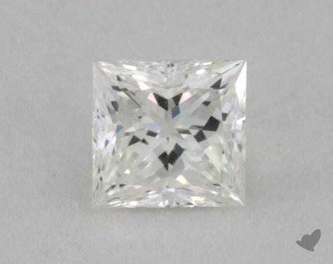 0.54 Carat G-VVS1 Ideal Cut Princess Diamond