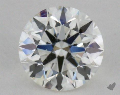 0.71 Carat H-SI1 Excellent Cut Round Diamond