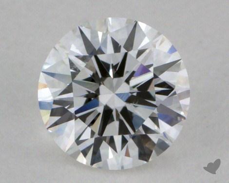 0.51 Carat E-SI1 Very Good Cut Round Diamond