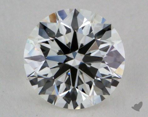 0.74 Carat H-VVS1 Excellent Cut Round Diamond