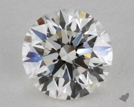 0.76 Carat H-VVS1 Excellent Cut Round Diamond