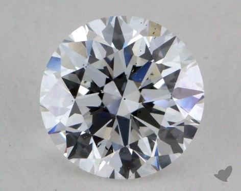 0.75 Carat D-SI1 Very Good Cut Round Diamond
