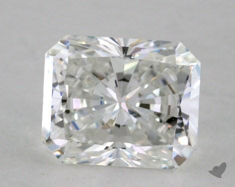 1.17 Carat G-IF Radiant Cut Diamond 