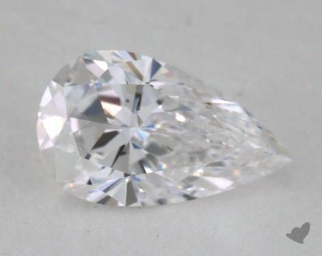 0.70 Carat D-SI2 Pear Cut Diamond
