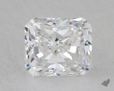 0.80 Carat D-SI1 Radiant Cut Diamond