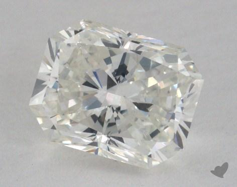 1.56 Carat H-SI2 Radiant Cut Diamond