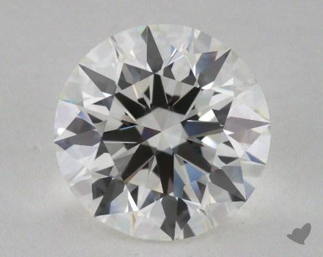3.08 Carat H-VS1 Ideal Cut Round Diamond