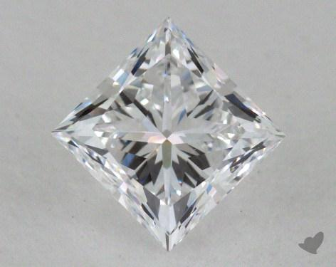0.80 Carat D-VS1 Very Good Cut Princess Diamond
