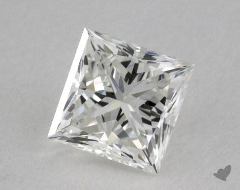 0.43 Carat H-VVS2 Ideal Cut Princess Diamond