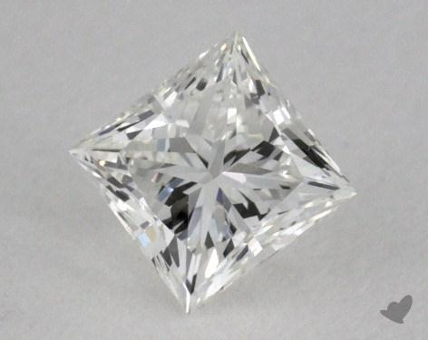 0.43 Carat H-VVS2 Ideal Cut Princess Diamond