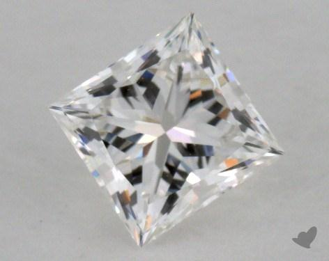 0.53 Carat F-VVS1 Ideal Cut Princess Diamond