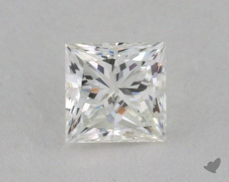 0.52 Carat G-VVS2 Ideal Cut Princess Diamond