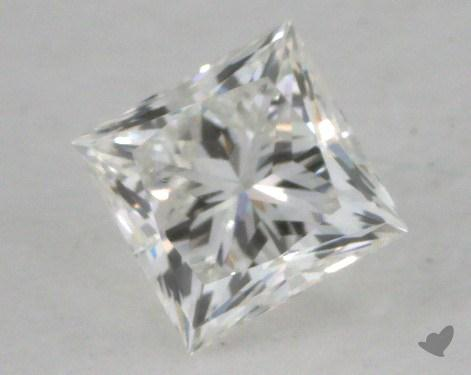 0.57 Carat F-VVS2 Ideal Cut Princess Diamond