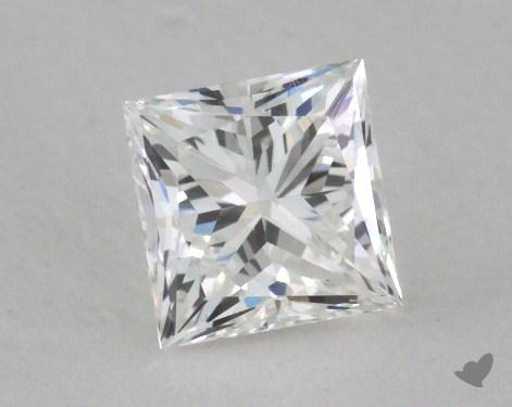 0.53 Carat G-IF Ideal Cut Princess Diamond
