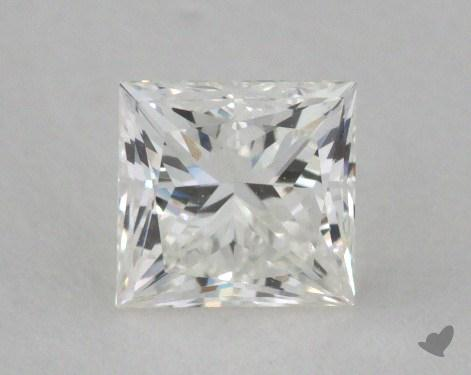 0.56 Carat H-VVS2 Ideal Cut Princess Diamond