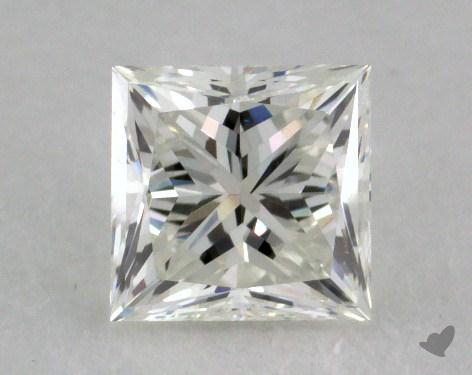 0.73 Carat I-IF Ideal Cut Princess Diamond
