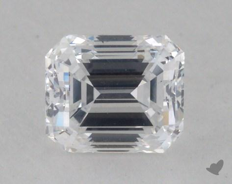 0.79 Carat D-VS2 Emerald Cut Diamond