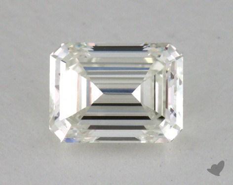 0.71 Carat I-VS1 Emerald Cut Diamond