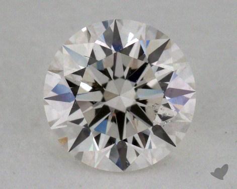 0.70 Carat H-SI1 Excellent Cut Round Diamond
