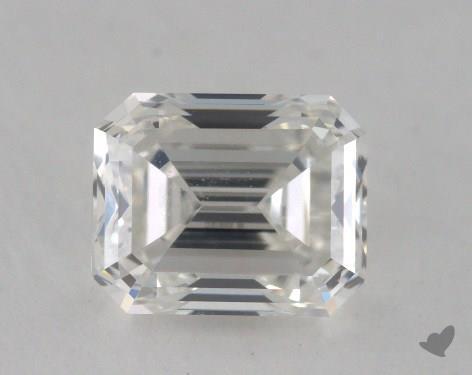 0.77 Carat H-VVS2 Emerald Cut Diamond