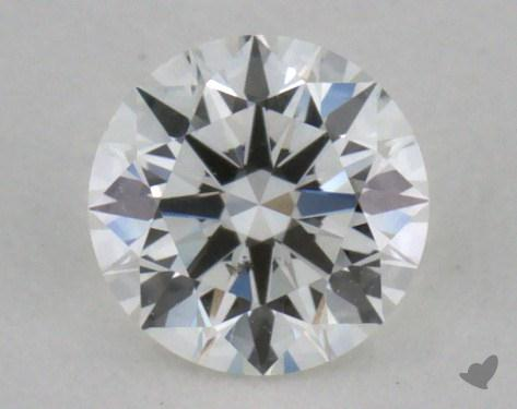 0.30 Carat F-SI1 Excellent Cut Round Diamond