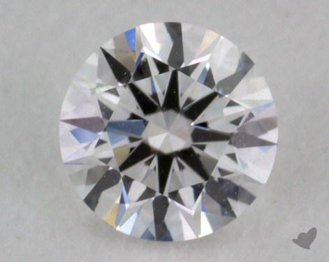 0.30 Carat F-VS2 Excellent Cut Round Diamond