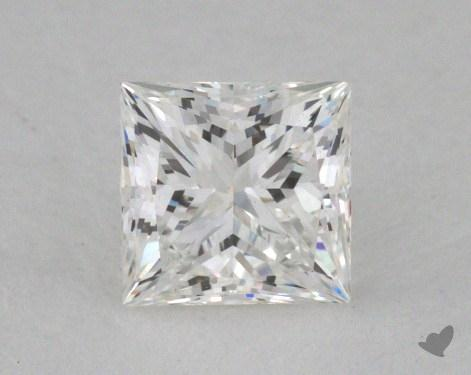 0.53 Carat F-VVS2 Ideal Cut Princess Diamond