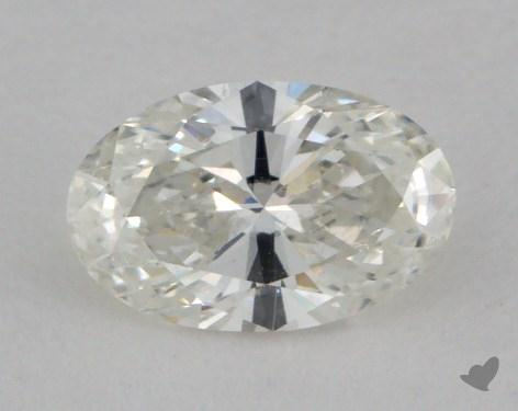 0.51 Carat H-SI1 Oval Cut  Diamond