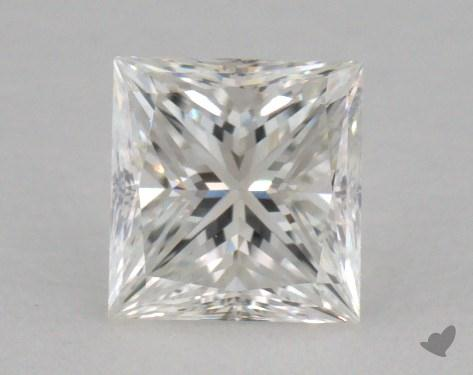 0.53 Carat F-VVS2 Good Cut Princess Diamond