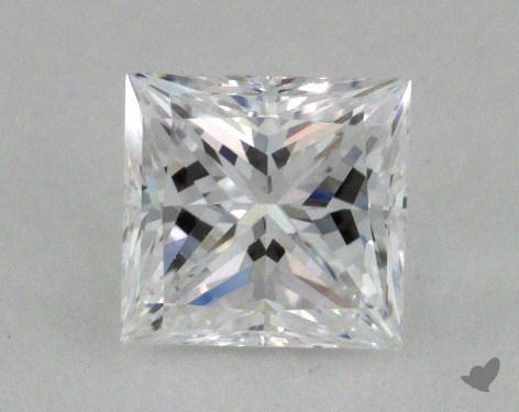 0.59 Carat D-VS1 Very Good Cut Princess Diamond